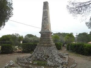 Le monument avant les travaux