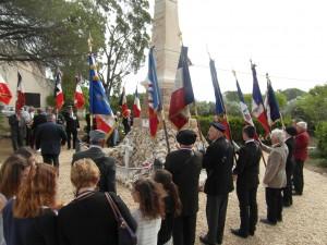 Inauguration du monument aux morts de Babeau-Bouldoux le 11 juin 2016